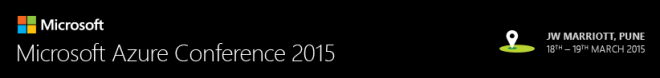 Microsoft Azure Conference 2015